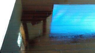 床のニス塗装 施工後